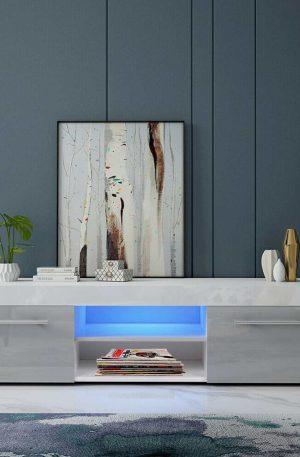 51'' Detachable TV Unit Bracket Modern LED TV Stands Living Room - Bedroom