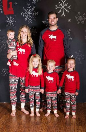 Matching Family Christmas Pajamas Set