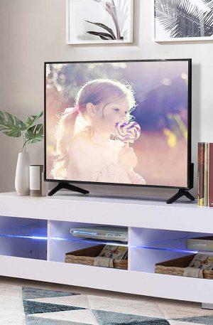 57'' Rectangular TV Cabinet Modern LED TV Stand